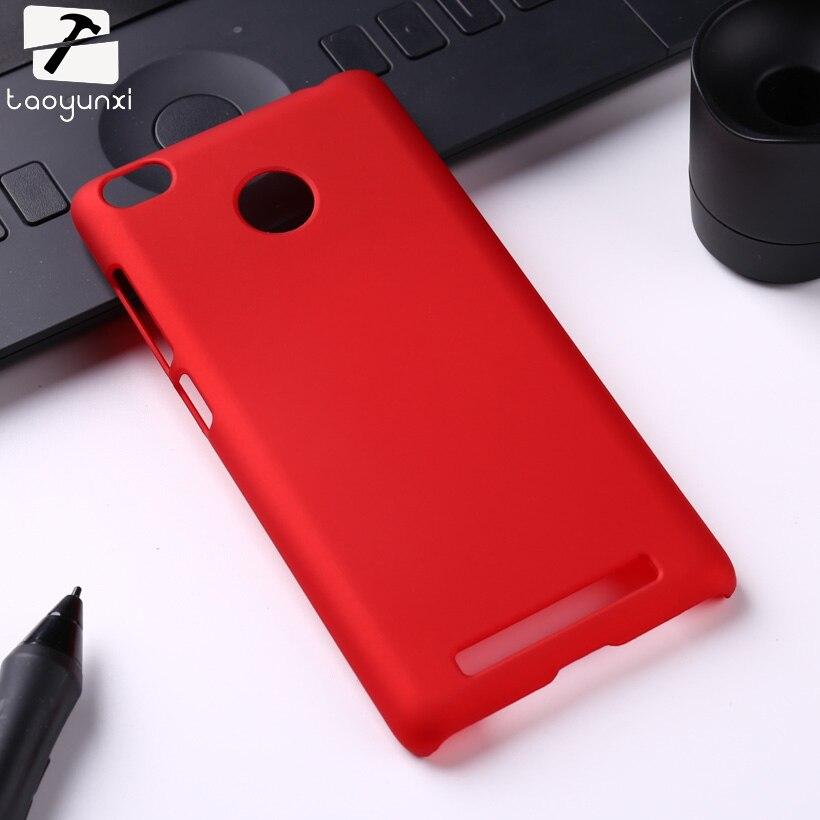 TAOYUNXI מט קשיח טלפון מקרה עבור Xiaomi Redmi 3 s Redmi 3 פרו Redmi 3 s פרו Redmi3 פרו 5.0 inch כיסוי שקיות מעטה