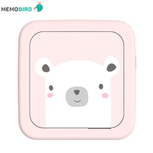 New Lnternational Edition MEMOBIRD GT1 Portable Bluetooth Printer Phone Photo Pocket Sticker Thermal USB Micro Connector