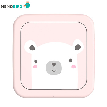 New Lnternational Edition MEMOBIRD GT1 Portable Bluetooth Printer Phone Photo Pocket Sticker Thermal Printer USB Micro Connector