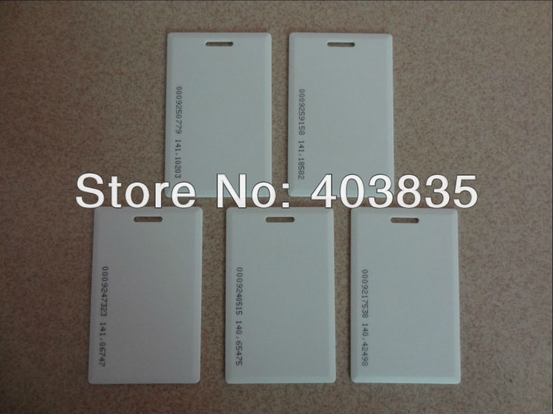 Intelligent entrance card, ID card m 013 door entrance guard id card white 10 pcs