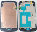 YOU KIT Original Brand New For LG Google Nexus 4 E960 Front Housing Middle Frame Faceplate Bezel With Adhesive