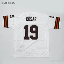 Throwback  19 Bernie Kosar Embroidered Retro star Football Jersey free  shipping INDCOLTS(China) f4da95c06