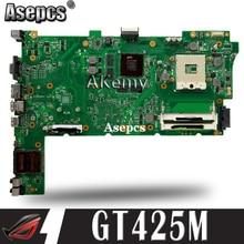 Akemy для Asus N73JN N73JQ N73JF материнская плата 60-NZXMB1100-E18 основная плата 8 память Rev2.0 материнская плата 100% Протестировано