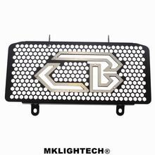 MKLIGHTECH For HONDA CB300R CB 300R 2018-2019 Aluminum Motorcycle Radiator Guard Radiator Protector Water Tank Protector
