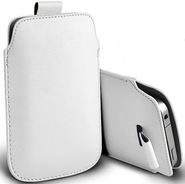 Nueva tire el bolso de cuero de la pu bolsas móvil casos para fly fs407 colores