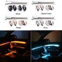 Araba Iç Dekoratif Led Ortam Kapı Işığı Çizgili atmosfer ışığı 3/18 Renk Ile BMW 5 Serisi Için F10/F11/ f18