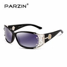 9218 PARZIN 2017 Women's Sunglasses So Real Brand Designer Spectacles Hollow Frame Plastic Glasses With Logo Box