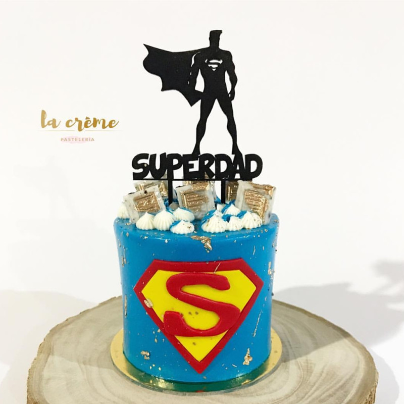 Father Birthday Cake Topper Fathers Day Cake Topper Dad Cake Topper Best Dad Ever Cake Topper
