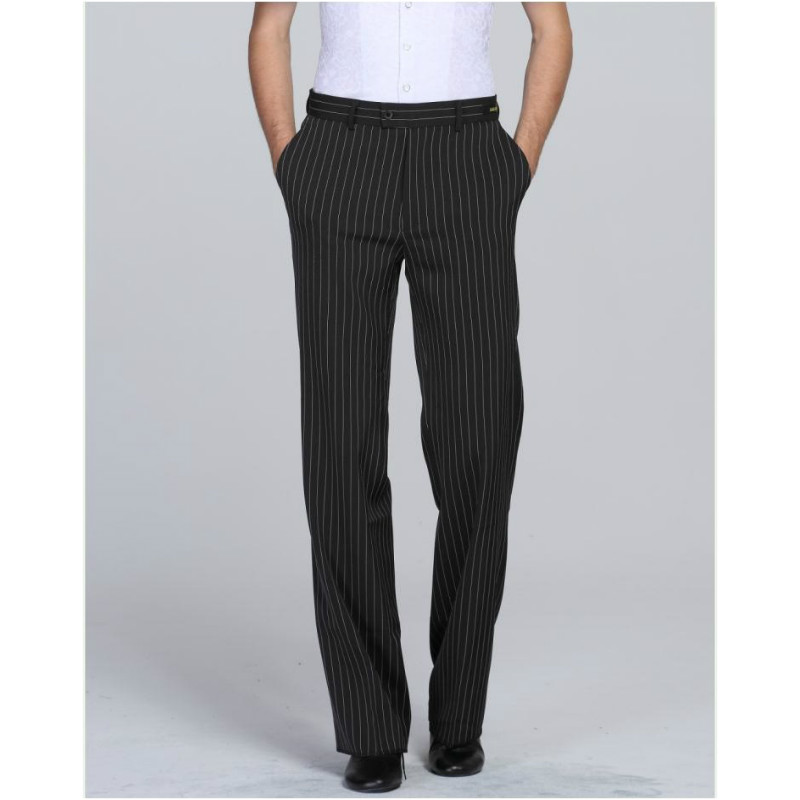 Mens Latin Dance Trousers Hot-selling Male Pants Training Ballroom Dancing Suit B-6969
