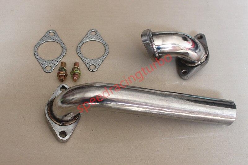 Dump Tube Pipe 35//38MM Wastegate fits Nissan Honda Subaru Scion Mazda