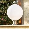 2016 New Round Ball Solar Light Outdoor Waterproof Panel Powered LED Lights White Desk Lamp For