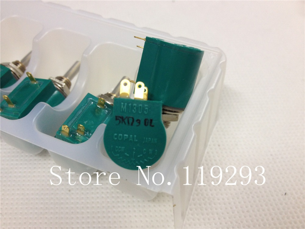 BELLA Japan Science Po COPAL M1305 5K 10K 5 Multiturn Potentiometer 5PCS LOT