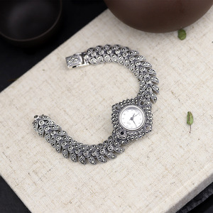 Image 3 - The new elegant business 925 sterling silver womens autumn bracelet watches
