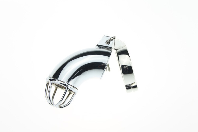 Metal male chastity device cock cage penis lock chastity belt sex toys men penis sex toys 4