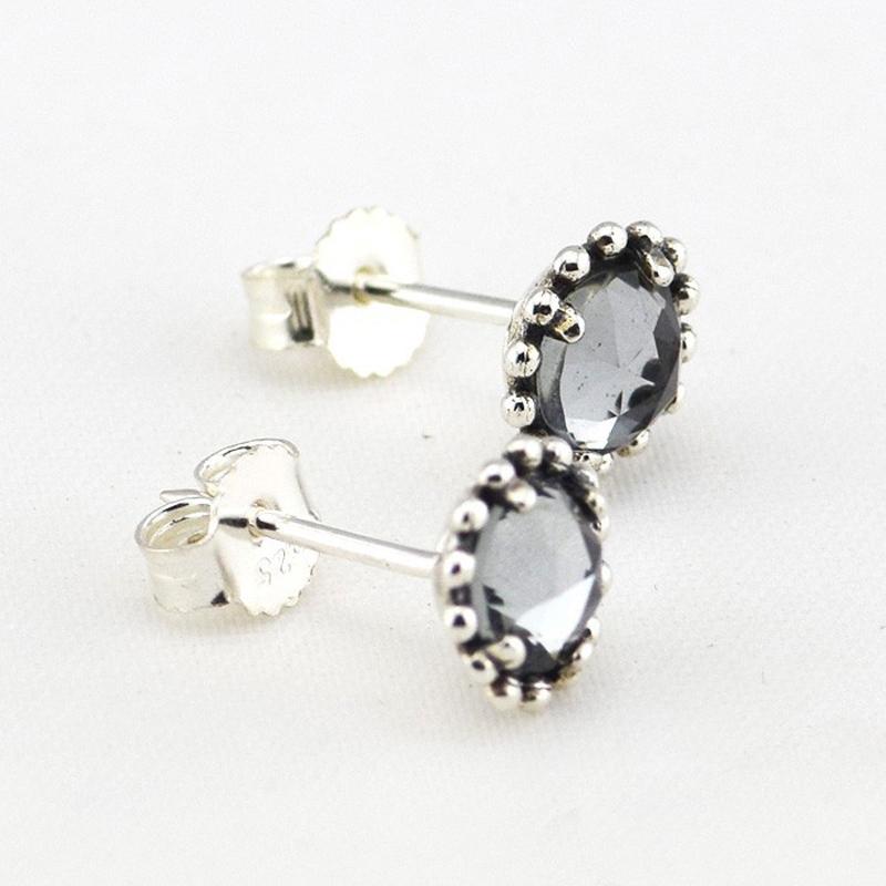 Wholesale-925-Sterling-Silver-Earring-Jewelry-Midnight-Blue-Silver-Earrings-For-Women-Free-Shipping
