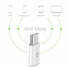 Micro USB Adapter to Type-C 3.1 USB-C Adapter Type C Converter for Xiaomi 4C Lg G5 Nexus 5x 6p Oneplus 2 Macbook Chromebook