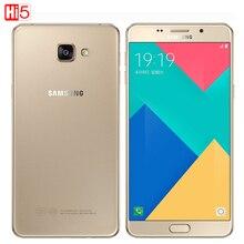 2016 Hot Оригинальный Samsung Galaxy A9 A9100 сотовые телефоны 6 дюйм(ов) 1920×1080 Пикселей 16.0MP окта основные 4 ГБ RAM 32 ГБ ROM dual sim карты