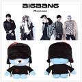 2015 kpop bigbang G-Dragon made series GD cute Chuck plush toys Stuffed toy doll k-pop exo bts v Blue Teddy bears Animal Figure