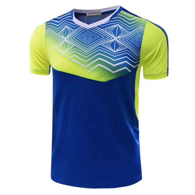 New Quick dry Badminton t shirt , Tennis shirt Men / Women , Table tennis shirt , Tennis shirt female/male , sports t-shirt 5053