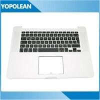 Brand New For MacBook Pro Retina 15.4 A1398 TR Turkish Turkey Top Case Topcase keyboard Palmrest MC975 MC976 2012 Year