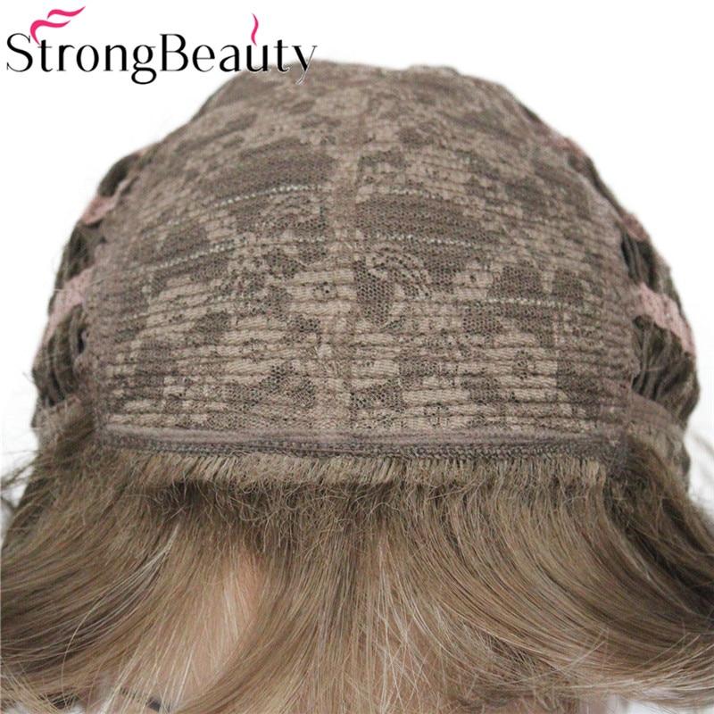 StrongBeauty Σύντομες Σγουρές Συνθετικές - Συνθετικά μαλλιά - Φωτογραφία 6