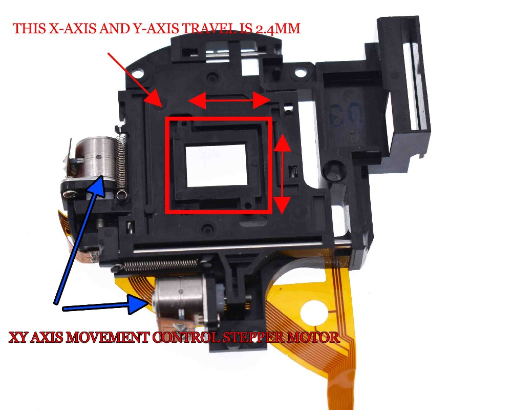 Micro Stepping Motor Cross Platform Small Mobile Digital