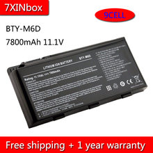 7XINbox 9cell 7800mAh BTY-M6D Laptop Battery For MSI E6603 GT60 GT660 GT663 GT670 GT680DX GT680R GT70 GT780 GT783 GX660D GX780(China)