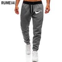 2019 новый бренд тренажерные залы Мужские штаны для бега фитнес повседневные модные брендовые джоггеры спортивные штаны мужские повседневны...