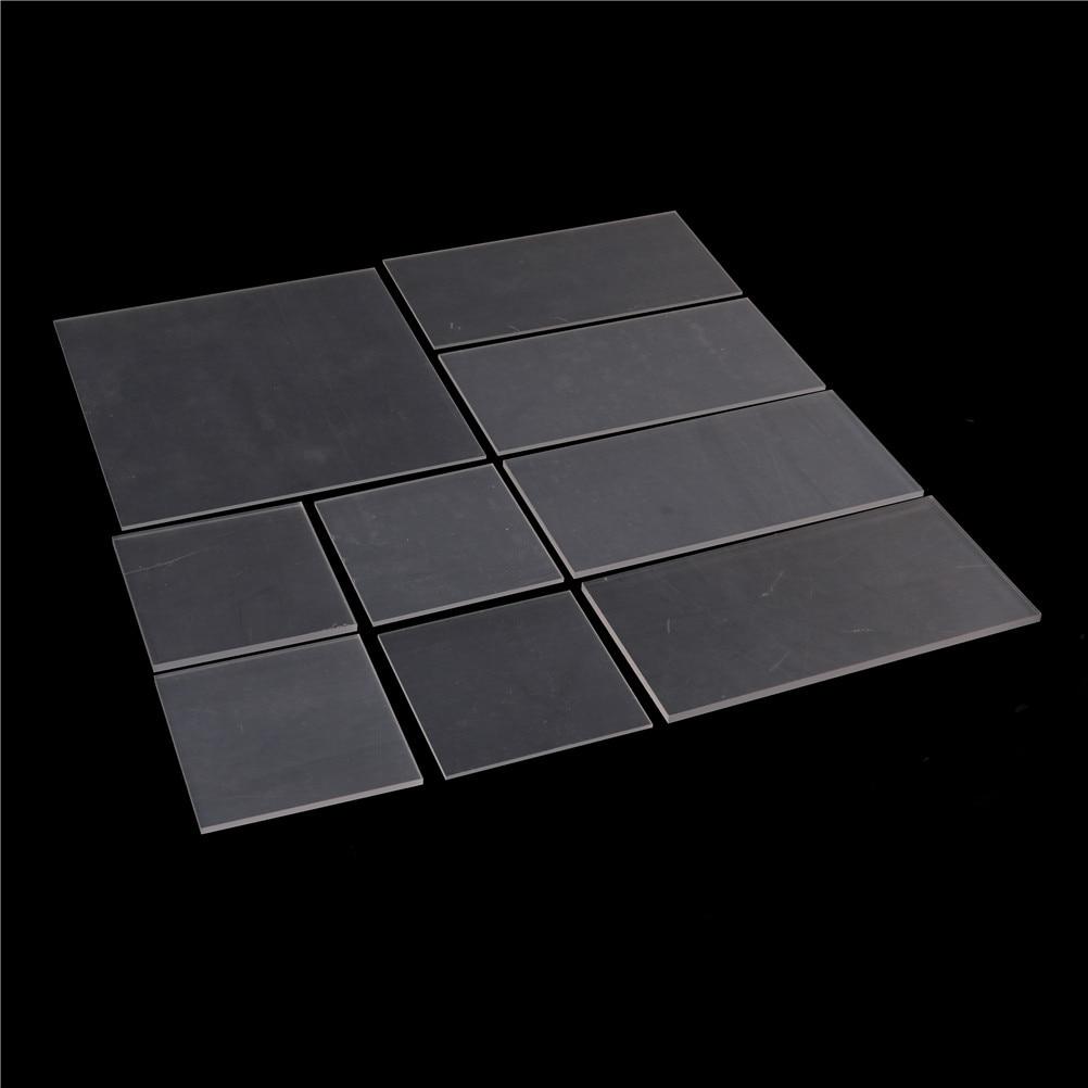 1Pcs 2-5mm Transparent Board Perspex Panel Thickness Plastic Clear Acrylic Perspex Sheet Cut
