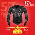 HEROBIKER chaqueta de la motocicleta de los hombres de cuerpo completo de la motocicleta armadura de carreras de Motocross equipo de protección de la motocicleta protección tamaño S-5XL #