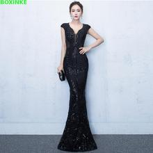 цена 2019 Mesh Lanon Solid Dress Plus Size Vestidos De Fiesta The New Banquet, Host, Host Of And Festival, Long Dresses Of Fish Tail