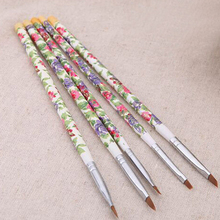 5 pcs/set New Nail Brushes UV Gel Acrylic Nail Art Brush Pai