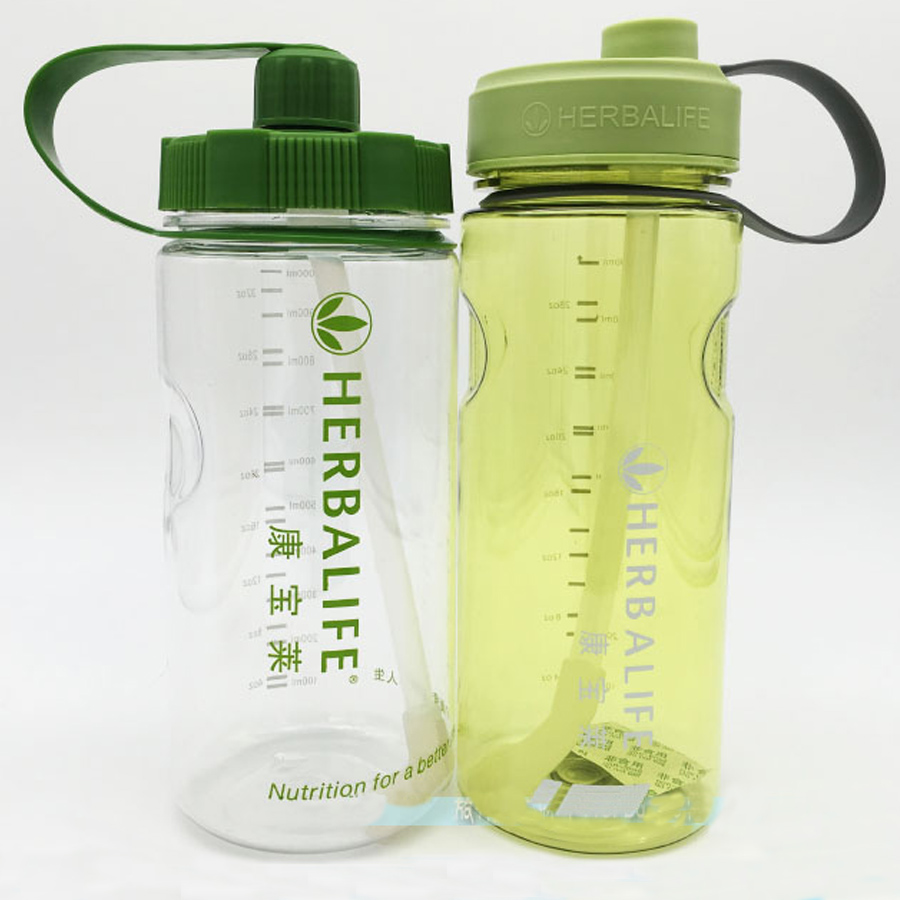 1000ml herbalife brand water bottle outdoor BPA free space with ...