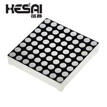 3 мм 8x8 светодиодные решетки ярко-красный точечный матричный модуль 8x8 8*8