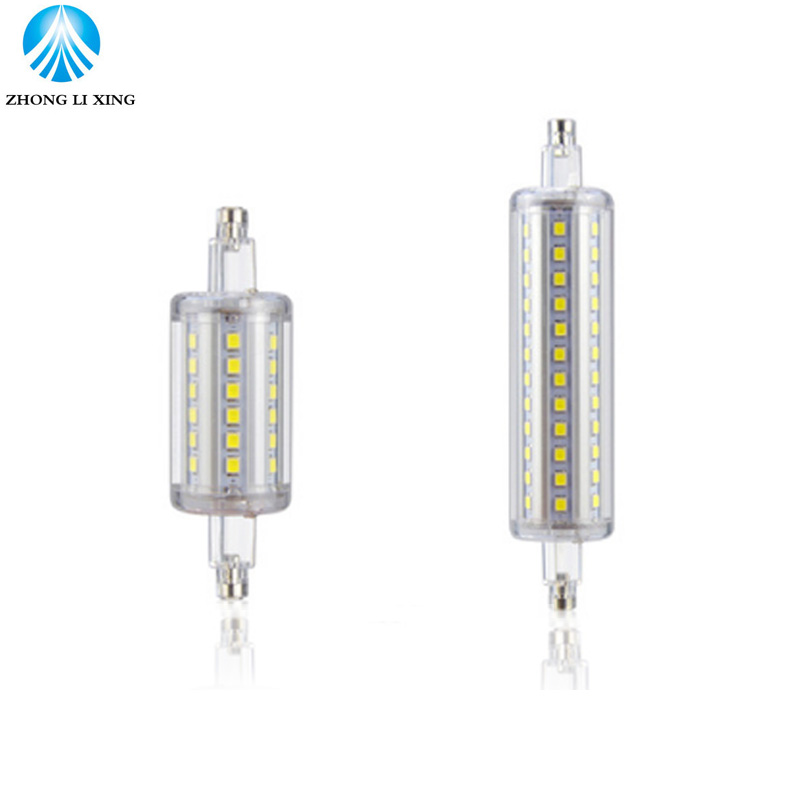78mm 118mm J78 J118 R7S LED Lamp 7W 15W SMD 2835 spotlight R7S Light Bulb 90-260V Replace Halogen Light spot light