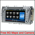 Capacitive Screen 2Din 7 Inch Car DVD for FORD FOCUS MONDEO S-MAX 2008-2011 With RDS Radio GPS ipod BT 1080P ford car dvd focus