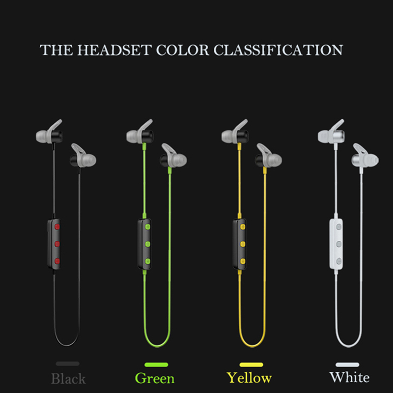 JOWAY H10 wireless headphones bluetooth sport earphone Magnetic with mic microphone neckband headset music stereo for phone in Bluetooth Earphones Headphones from Consumer Electronics