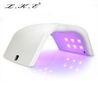 Lke 48 Вт светодиодные лампы для ногтей для светодиодных УФ-гель лак Led Лак для ногтей маникюр с автоматический датчик время 30 s 60 s 90 s Сушилка дл...