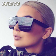 Belmon Sunglasses Women Luxury Brand Designer Sun Glasses Big Frame For Ladies UV400 Female Oversized Shades  de RS092