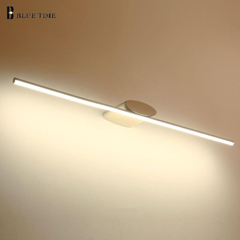 Ванная комната лампа современный светодиодный настенный светильник Ванная комната зеркало передний свет AC110 220 В бра светодиодный бра для в...