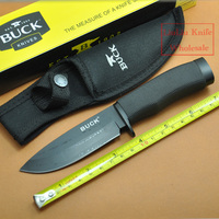 2pcs Lot Brand New Classic Buck Knife Outdoor Camping Knife Hardness 56HRC Stainless Steel Multi Function