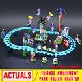 Lepin 01008 kits de edificio Modelo compatible con city girls amigo Parque De Atracciones bloques 3D modelo de construcción de juguetes Educativos