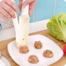 Многоцелевой DIY фрикадельщик Котти рыбный шар бургер инструменты для приготовления домашнего полезного приготовления гамбургеров аксессуары