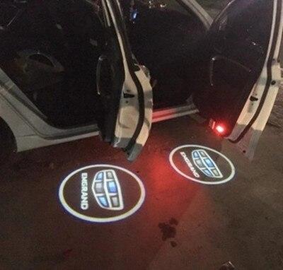 Free shipping Car styling Welcome door light Ghost Shadow Light Car Door Light for Geely emgrand EC7 ec715 ec718