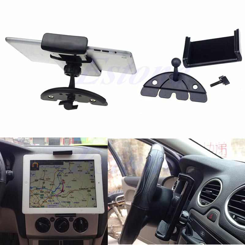 10 inch Auto CD Mount Tablet PC Cradle Holder Stand Voor iPad 2/3/4 5 Air galaxy Tab