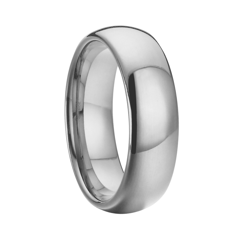 Aliexpress Never Fade Silver Color Men Jewelry Wedding Band Tungsten Carbide Ring Whole Costume Jewellery 6mm From Reliable