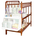Baby Bed Crib Hanging Storage Bag Toy Diaper Pocket For Cradle Bedding