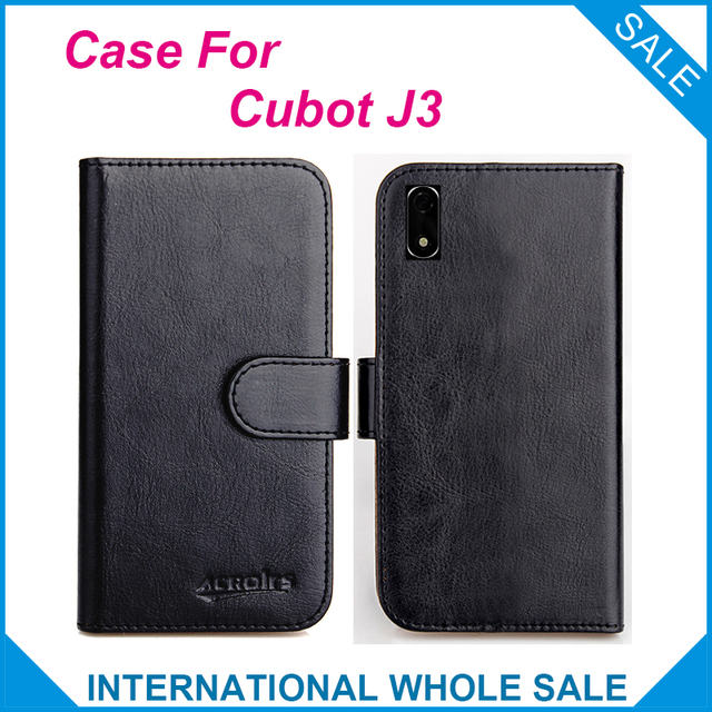 reputable site 6f960 48e25 US $4.59 8% OFF|Original! Cubot J3 Case ,6 Colors High Quality Leather  Exclusive Case For Cubot J3 Cover Phone Bag Tracking-in Flip Cases from ...
