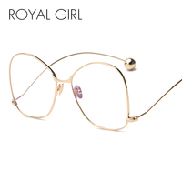 Fashion Sunglasses Clear Lens Women Glasses UV400 Protection Personality Exaggerated Men Sun Glasses SS051
