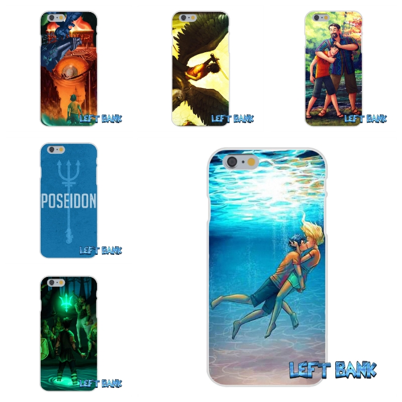 For iPhone 4 4S 5 5S 5C SE 6 6S 7 Plus Fashion Percy Jackson Soft Silicone TPU Transparent Cover Case